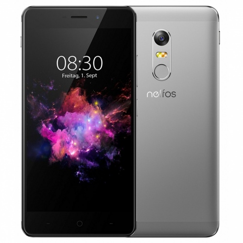 TP-Link Neffos X1 Max 5.5'', 1920 x 1080 Pixeles, WiFi + 4G, Android 6.0, 8 Nucleos (4*Cortex-A53 2GHz + 4*Cortex-A53 1.20GHz) Negro/Gris