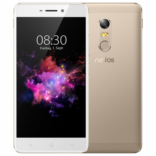 TP-Link Neffos X1 Max 5.5'', 1920 x 1080 Pixeles, WiFi + 4G, Android 6.0, 8 Nucleos (4*Cortex-A53 2GHz + 4*Cortex-A53 1.20GHz) Oro