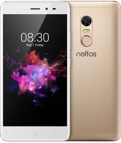 "TP-Link Neffos X1 Lite 5"", 1280 x 720 Pixeles, WiFi + 4G, Android 7.0, 8 Nucleos (4* ARM Cortex-A53 1.50GHz + 4* ARM Cortex-A53 1GHz), Oro"