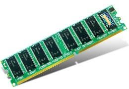 Memoria RAM Transcend TS32MLD64V4F3 DDR, 400MHz, 256MB, Non-ECC, CL3