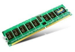 Memoria RAM Transcend TS64MQR72V4E DDR2, 400MHz, 512MB, ECC, CL3