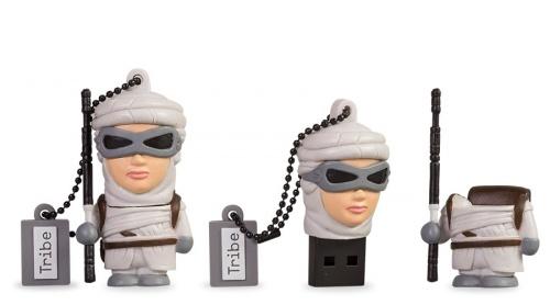 Memoria USB Tribe, 8GB, USB 2.0, Star Wars TFA Rey