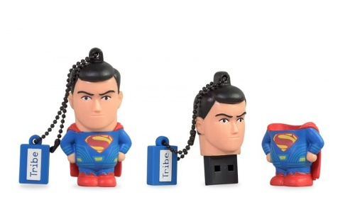 Memoria USB Tribe, 8GB, USB 2.0, DC Superman