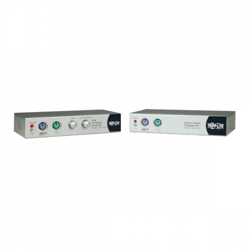 Tripp Lite Kit Ampliador de Consola KVM Cat5e, Alámbrico, PS/2 o USB, 100 Metros