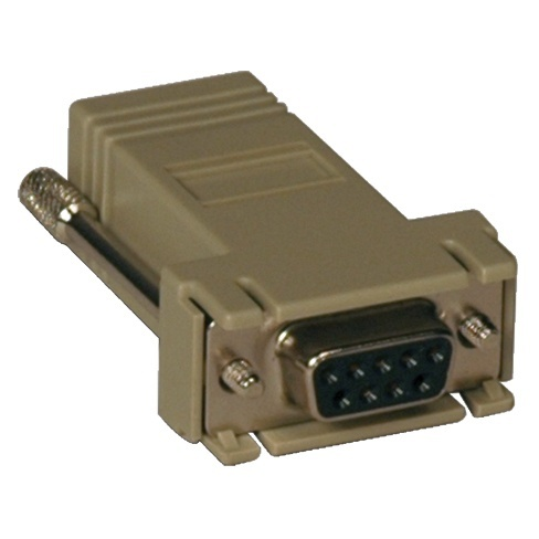 StarTech.com Adaptador Serial DB9 Hembra - RJ-45 Hembra, Beige