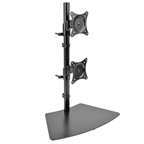 Tripp Lite Soporte de Mesa para 2 Monitores 15''-27'', max. 8.16kg, Negro