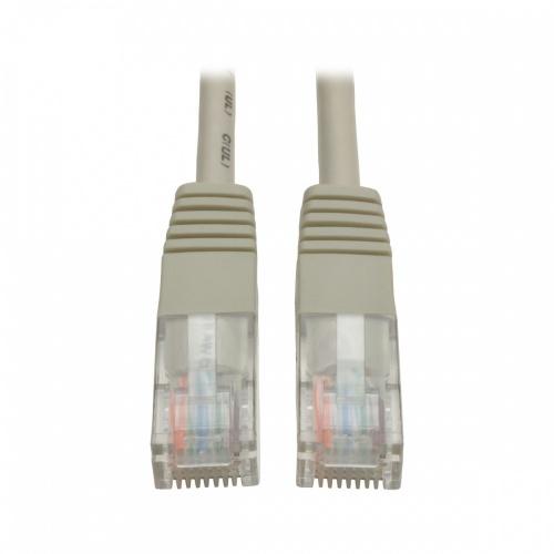 Tripp Lite Cable Patch Cat5e UTP Moldeado, RJ-45 Macho - RJ-45 Macho, 350MHz, 90cm, Gris