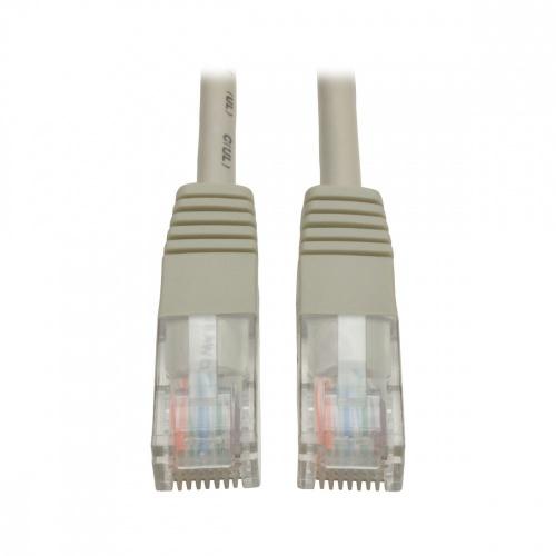Tripp Litte Cable Patch Moldeado Cat5e UTP, RJ-45 Macho - RJ-45 Macho, 1.52 Metros, Gris