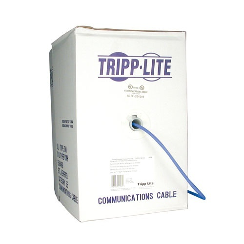 Tripp Lite Bobina de Cable Patch Cat5e UTP, 305 Metros, Azul