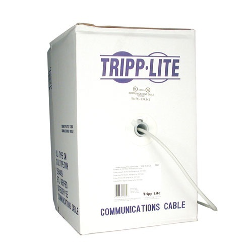 Tripp LIte Bobina de Cable Patch Cat5e, 304.8 Metros, Gris