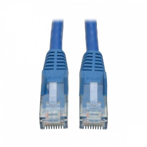 Tripp Lite Cable Patch Moldeado sin Enganches Cat6 UTP RJ-45 Macho - RJ-45 Macho, 1.52 Metros, Azul - 50 Piezas