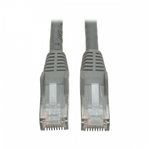 Tripp Lite Cable Patch Moldeado sin Enganches Cat6 RJ-45 Macho - RJ-45 Macho, 2.1 Metros, Gris