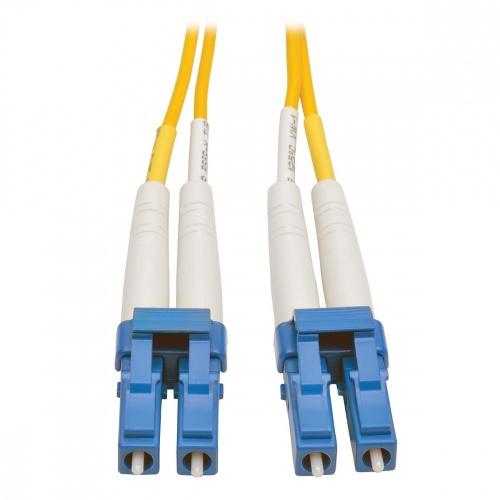 Tripp Lite Cable Fibra Óptica OFNR 2x LC Macho - 2x LC Macho, 3 Metros, Amarillo
