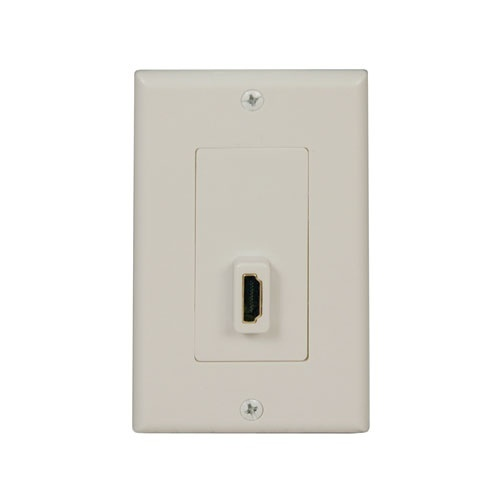 Tripp Lite Placa de Pared HDMI, Blanco
