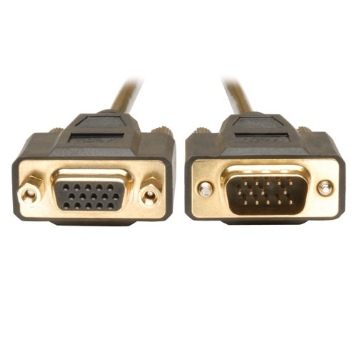 Tripp Lite Cable VGA (D-Sub) Macho - VGA (D-Sub) Hembra, 3.05 Metros, Negro