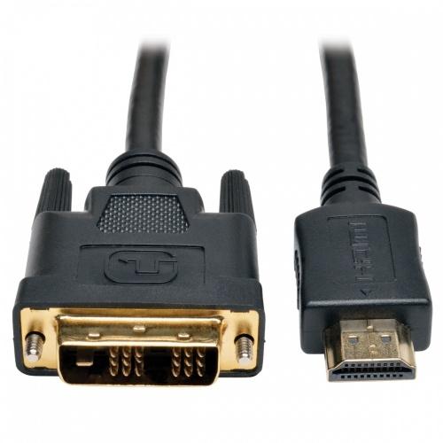 Tripp Lite Cable HDMI Macho - DVI-D Macho, 1.83 Metros, Negro
