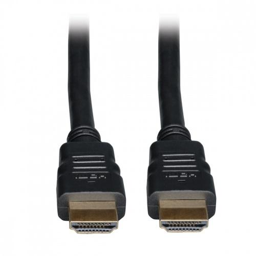 Tripp Lite Cable de Alta Velocidad con Ethernet HDMI Macho - HDMI Macho, 7.62 Metros, Negro