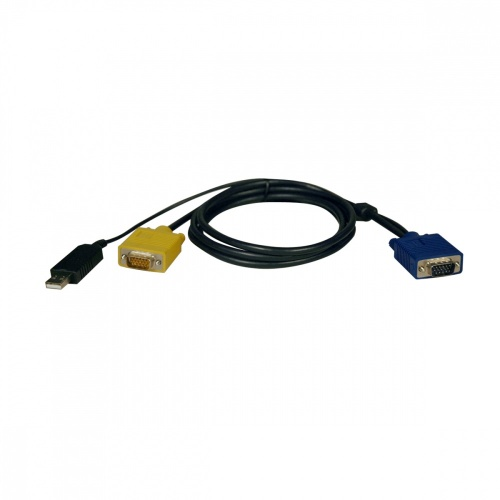 Tripp Lite Cable HD15 Macho - HD15 Macho / USB A, 1.8 Metros