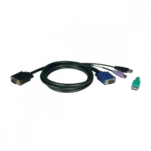 Tripp Lite Cable KVM P780-010, VGA (D-Sub) Macho - 6 PIN Macho, 3 Metros
