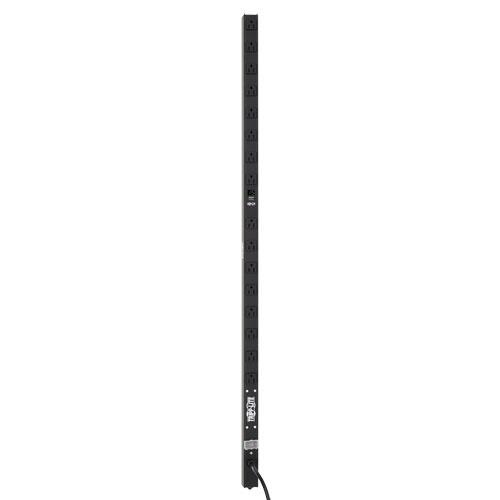 Tripp Lite PDU Monofásico con Medidor Digital, 120V, 15A, para Instalación Vertical de 0U en Rack