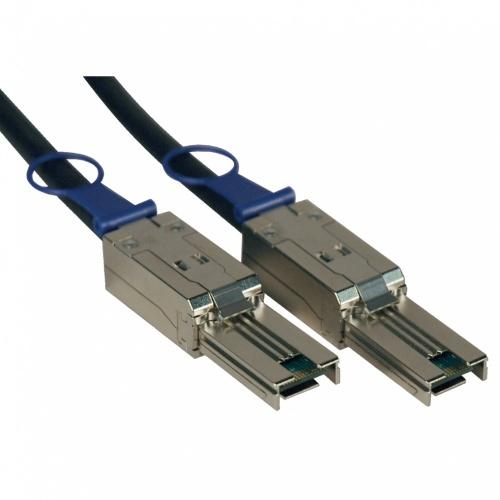 Tripp Lite Cable Mini-SAS Macho - Mini-SAS Macho, 2 Metros, Negro