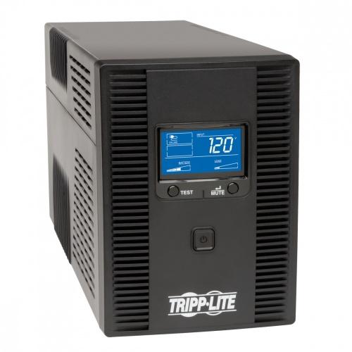 No Break Tripp Lite SMART1500LCDT, 900W, 1500VA, Entrada 120V, Salida 120V, 10 Contactos