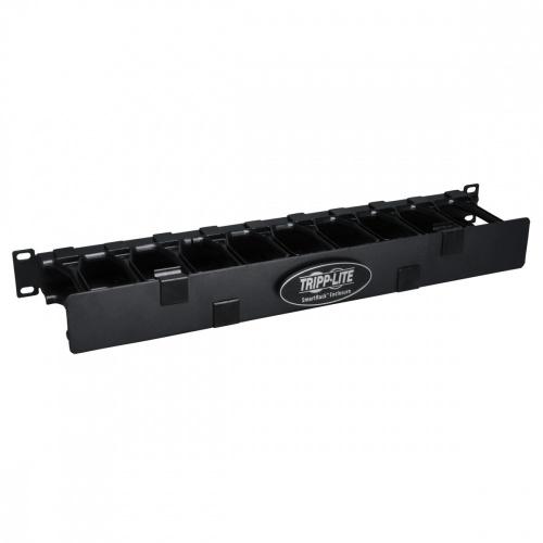 Tripp Lite Administrador de Cables Horizontal de 1U de Alta Capacidad