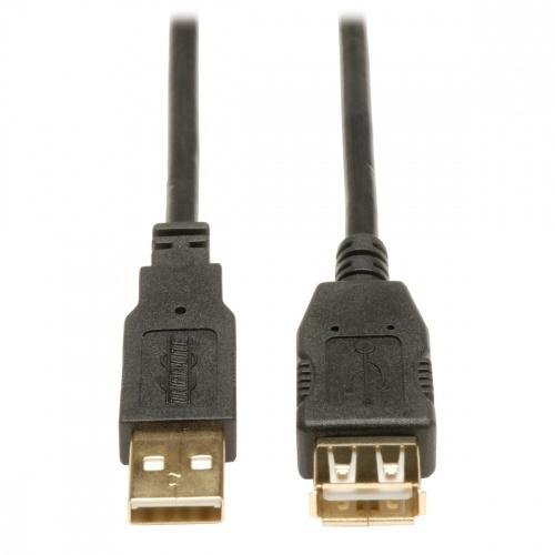 Tripp Lite Cable USB 2.0 A Macho - USB 2.0 A Hembra, 1.83 Metros, Negro