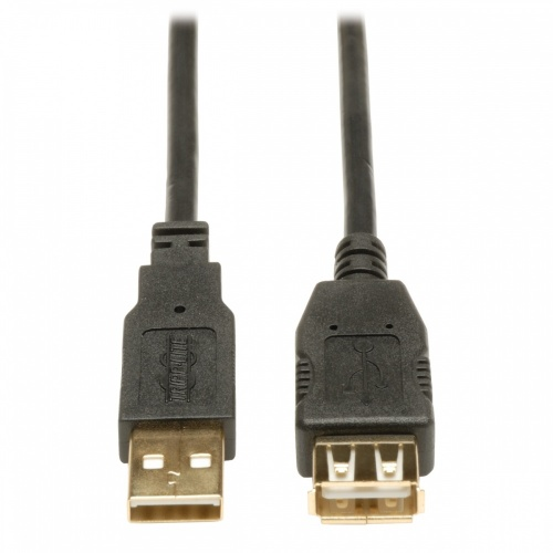 Tripp Lite Cable USB 2.0 A Macho - USB 2.0 A Hembra, 3.05 Metros, Negro