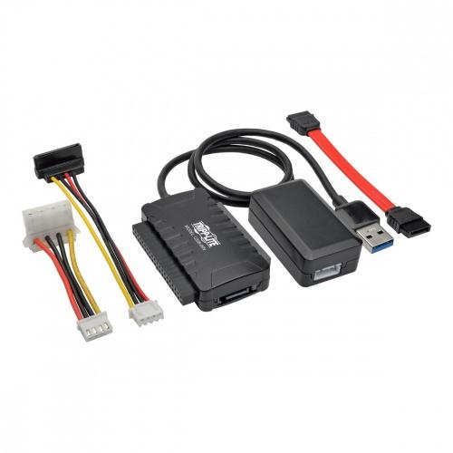 Tripp Lite Adaptador USB 3.0 SuperSpeed - SATA / IDE, para Discos Duros de 2.5''/3.5''/5.25''