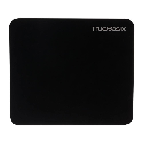 Mousepad Gamer True Basix TB-916684, 18x21cm, 2mm, Negro