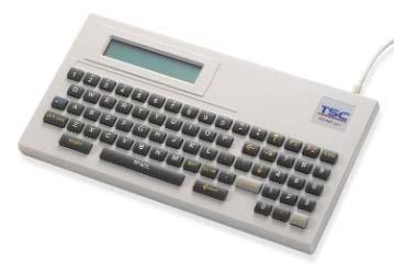 TSC Teclado POS para Impresión Autonoma de Etiquetas KP-200 Plus, RS-232