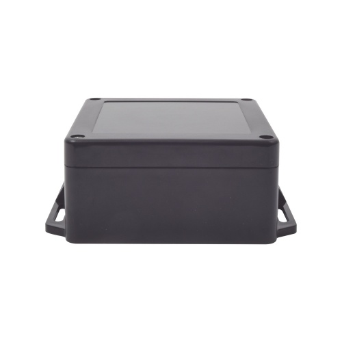 txPRO Gabinete de Plástico para Exteriores, 12 x 12cm, Negro