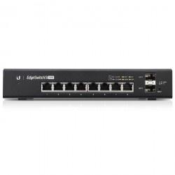 Switch Ubiquiti Networks Gigabit Ethernet EdgeSwitch, 8 Puertos 10/100/1000Mbps + 2 Puertos SFP, 20 Gbit/s, 8000 Entradas - Gestionado