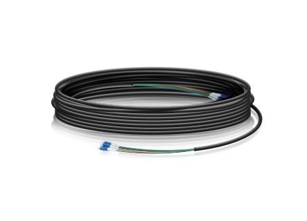 Ubiquiti Networks Cable Fibra Óptica FiberCable LC Macho - LC Macho, 30 Metros, Negro