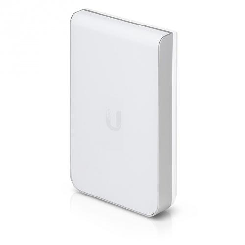 Access Point Ubiquiti Networks UniFi AC In-Wall, 1000 Mbit/s, 3x RJ-45, 2.4/5GHz, Antena Integrada de 2dBi, 5 Piezas - no incluye Adaptador PoE