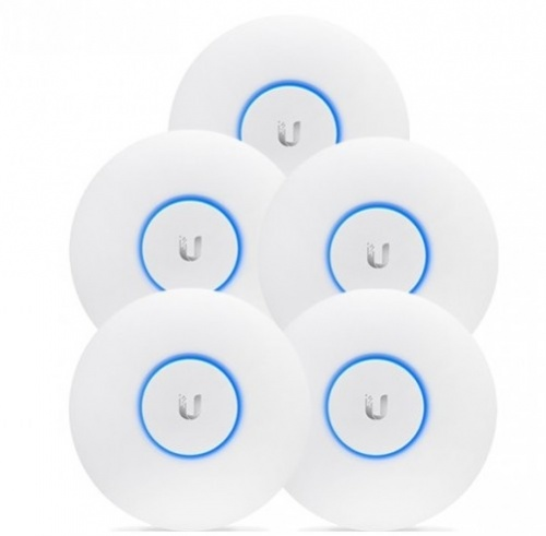 Access Point Ubiquiti Networks UniFi AP AC Lite, Inalámbrico, 2.4GHz, 2 Antenas de 3dBi, Paquete de 5 Piezas - no incluye Adaptador PoE