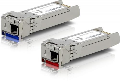 Ubiquiti Networks Módulo Transceptor SFP+ UFiber MiniGibic 10Gbps, LC Monomodo, 10000 Mbit/s, 10km