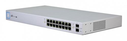 Switch Ubiquiti Networks Gigabit Ethernet UniFi Switch 16 150W, 16 Puertos 10/100/1000 + 2 Puertos SFP, 36 Gbit/s - Gestionado
