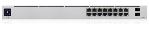Switch Ubiquiti Networks Gigabit Ethernet USW-16-POE, 16 Puertos 10/100/1000Mbps + 2 Puertos SFP, 36Gbit/s, Gestionado