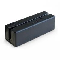 Unitech Lector de Tarjeta de Banda Magnética MS246, USB, Track III, Negro