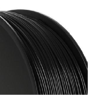 Verbatim Bobina de Filamento 55250, Diámetro 1.75mm, 1.4KG, Negro