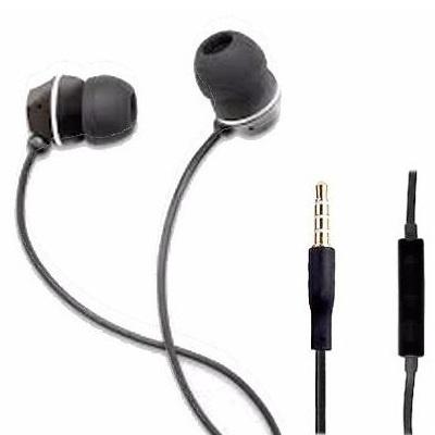 Verbatim Audífonos Intrauriculares con Micrófono 99726, Alámbrico, 3.5mm, Negro