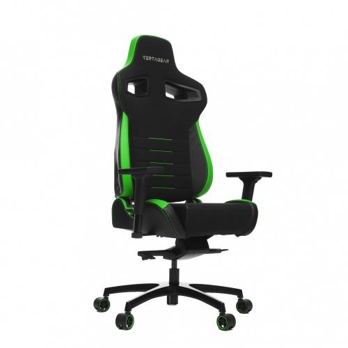 Vertagear Silla Gamer PL4500, hasta 180Kg, Negro/Verde