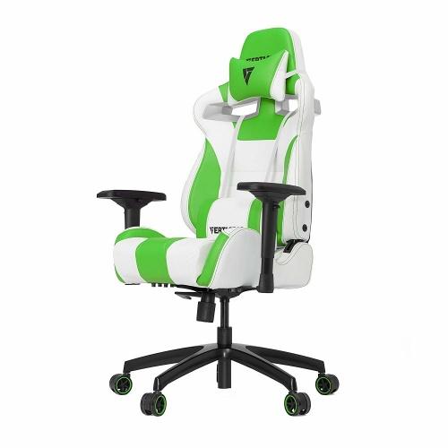 Vertagear Silla Gamer VG-SL4000, hasta 150Kg, Verde/Blanco
