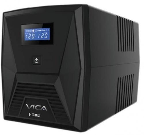 No Break Vica E-Tronix 1500, 1500VA, Entrada 127V, Salida 108 - 132V, 8 Contactos