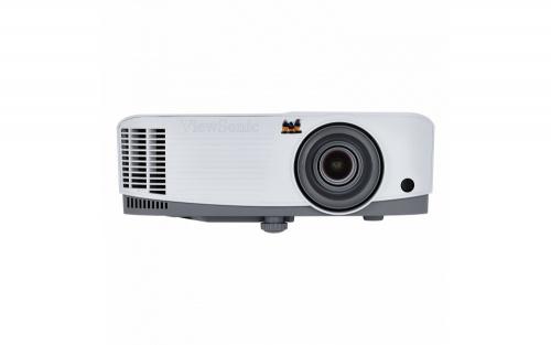 Proyector Viewsonic PG703W DLP, WXGA 1280 x 800, 4000 Lúmenes, 3D, con Bocinas, Gris/Blanco