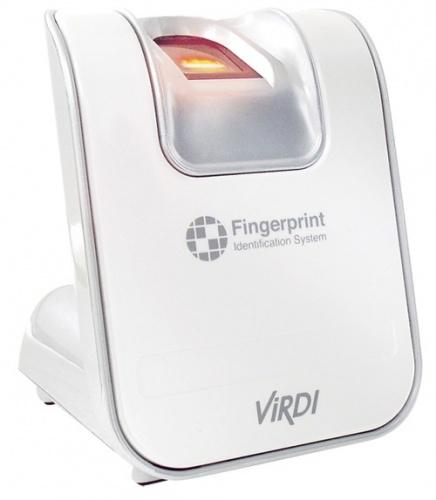 ViRDI Lector Biométrico de Huella BioSmart FOH02, USB, Blanco