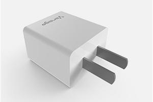 Vorago Cargador de Pared AU-105 V2, 5V, 1 Puerto USB 2.0, Blanco