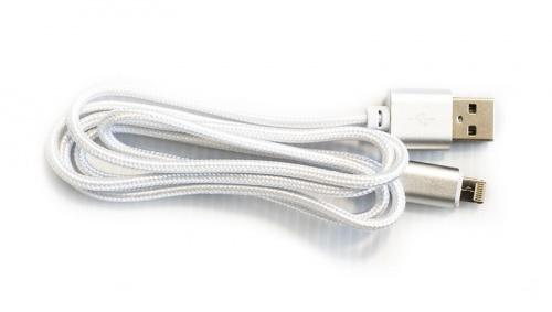Vorago Cable USB A Macho - Lightning Macho, 1 Metro, Blanco